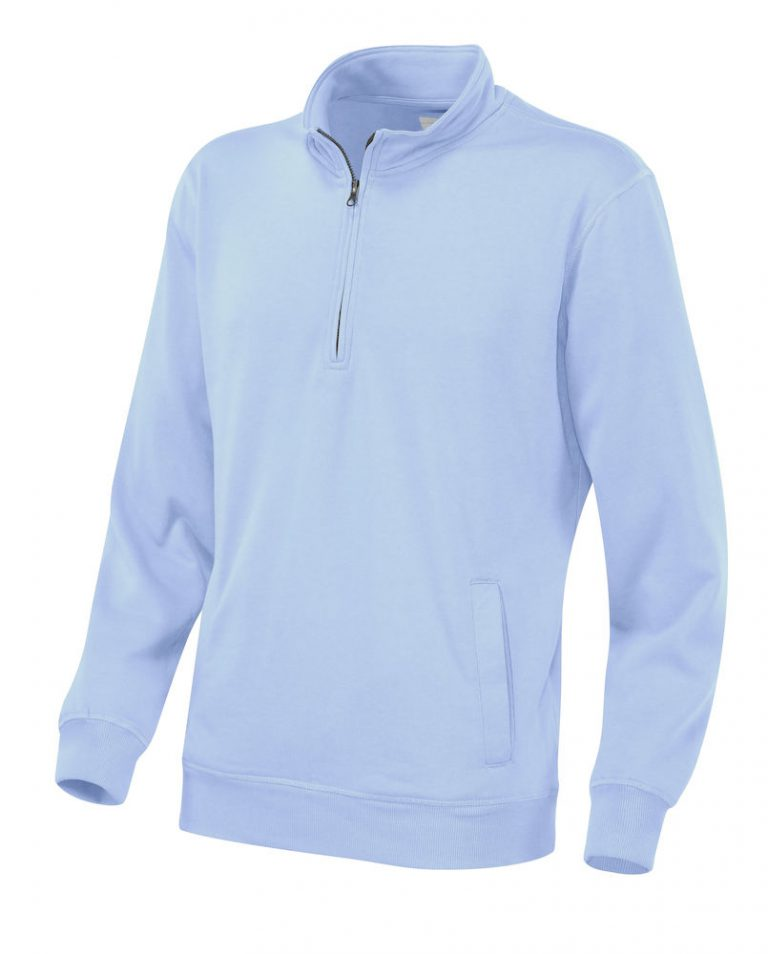 141012 CottoVer Zipsweater sky blue