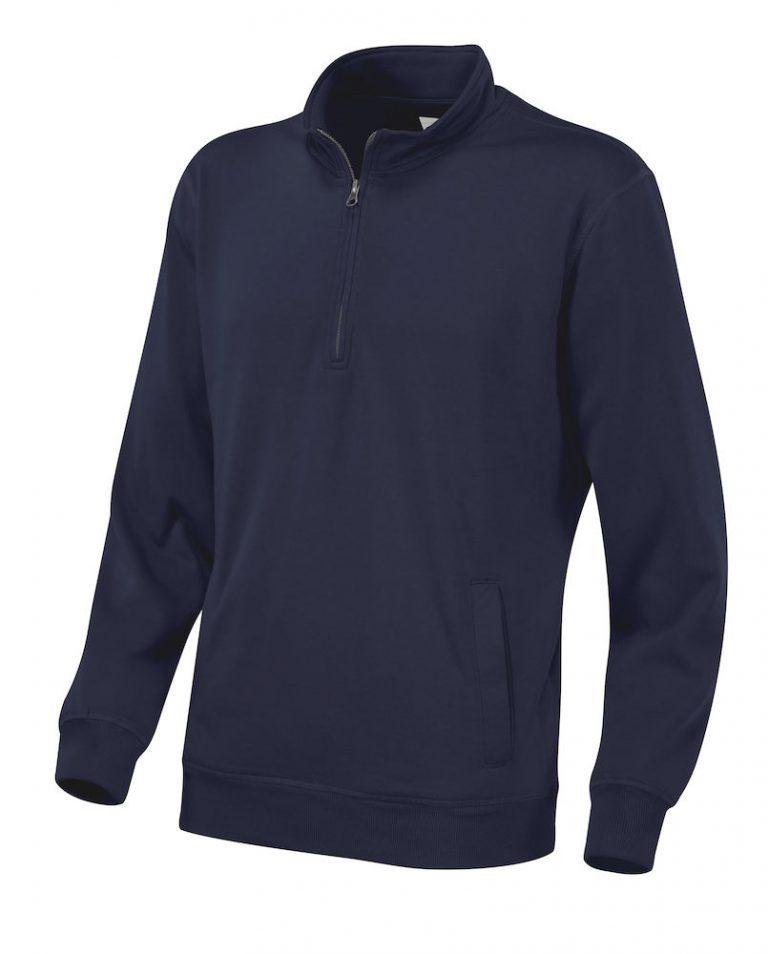 141012 CottoVer Zipsweater navy