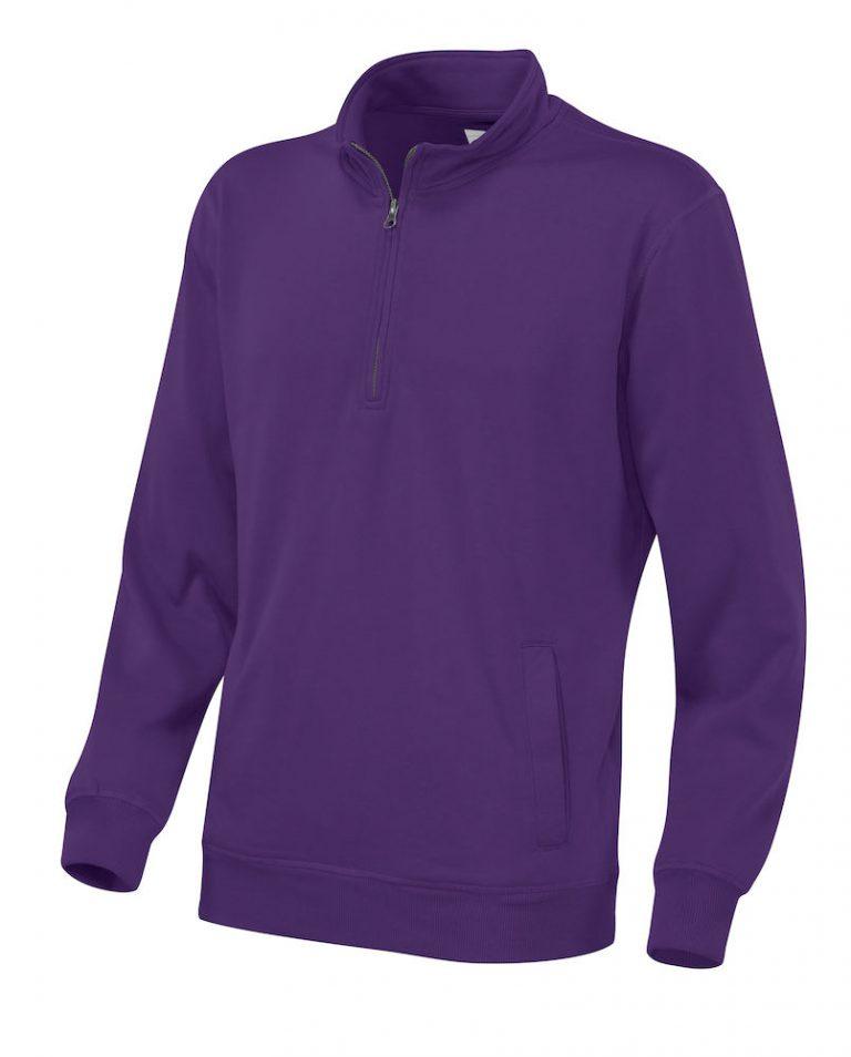 141012 CottoVer Zipsweater paars