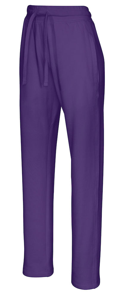 141013 CottoVer Sweat Pants Lady Purple