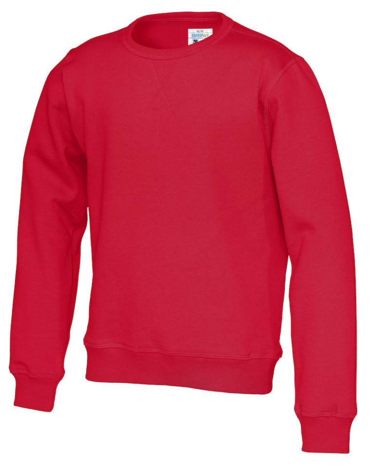 141015 CottoVer Sweater Kids Red