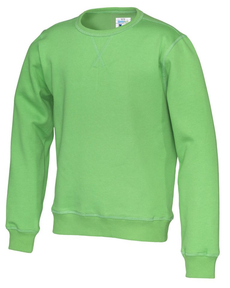 141015 CottoVer Sweater Kids Green