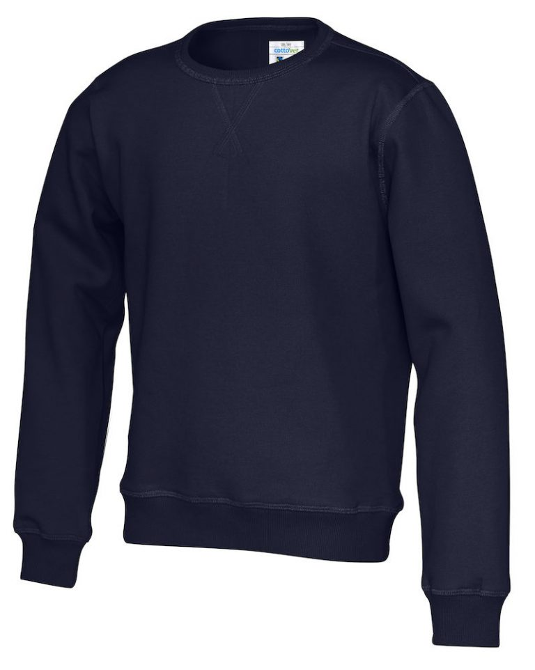 141015 CottoVer Sweater Kids Navy