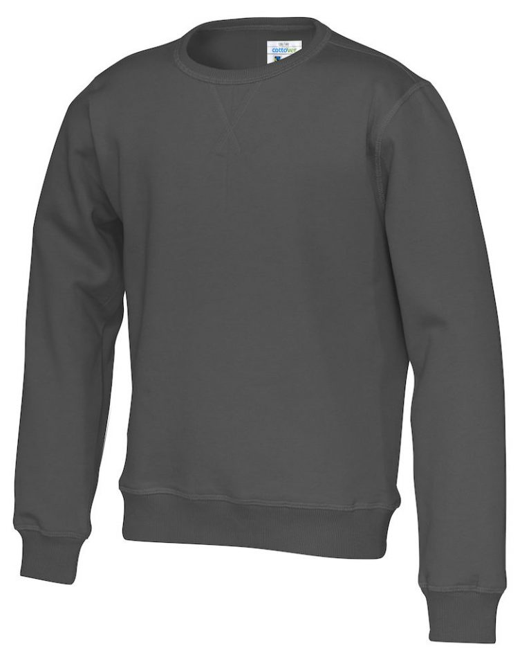 141015 CottoVer Sweater Kids Charcoal