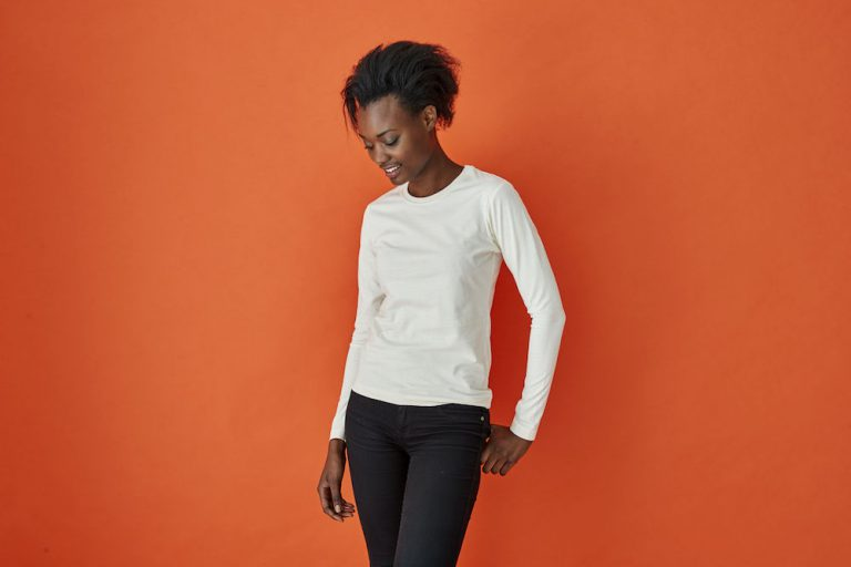141019 CottoVer T-shirt lady lange mouw