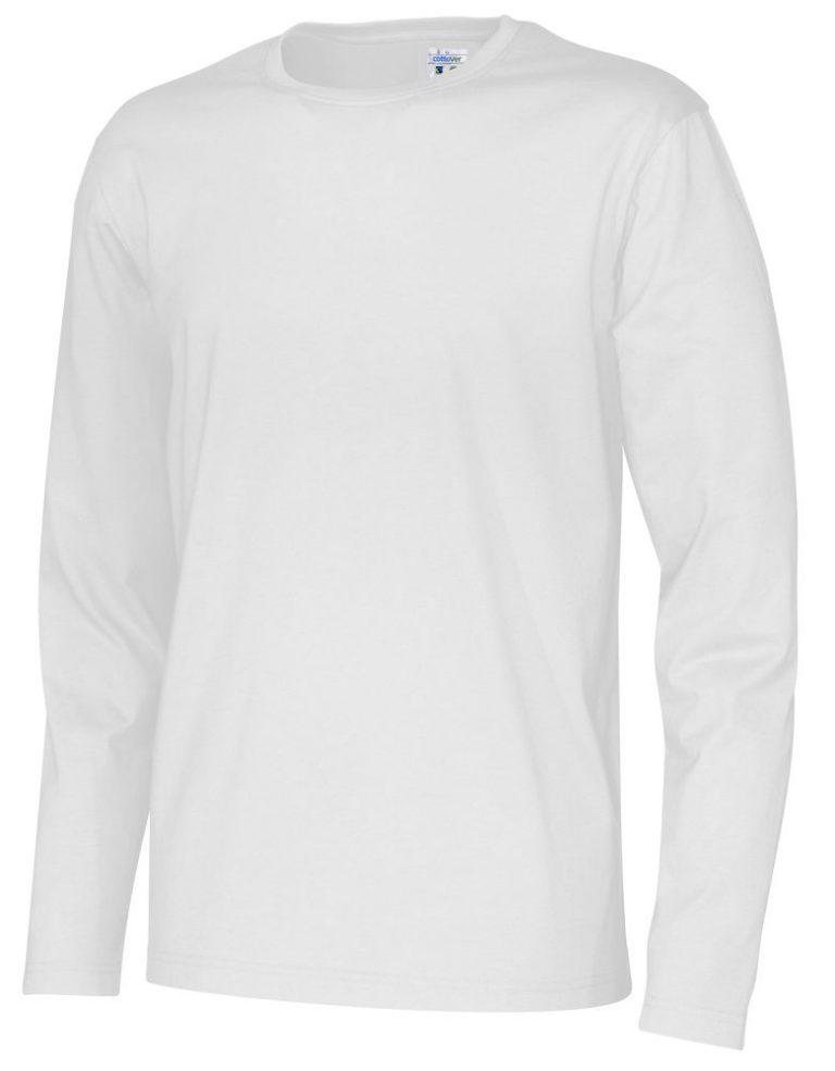 141020 CottoVer T-shirt Man lange mouw white