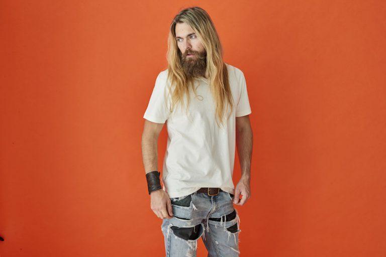 141022 CottoVer T-Shirt V-Hals Man