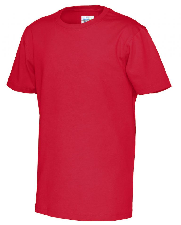 141023 CottoVer T-shirt kids red