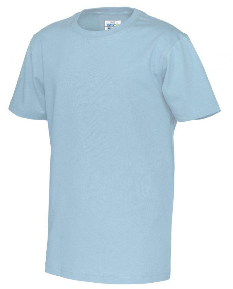 141023 CottoVer T-shirt kids sky blue