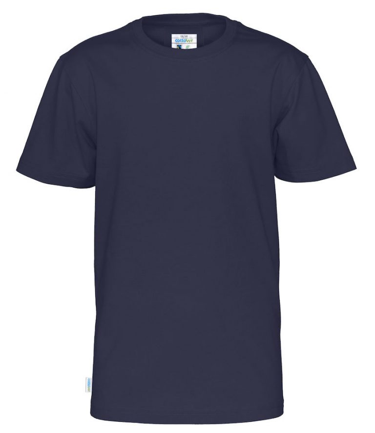 141023 CottoVer T-shirt kids navy