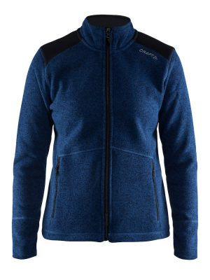 1904588 Noble Zip Jacket Heavy Knit Fleece Woman Craft