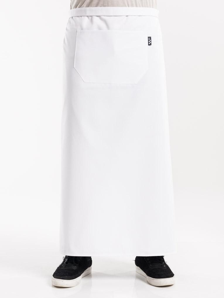 472 White regular 1pocket sloof chaud devant