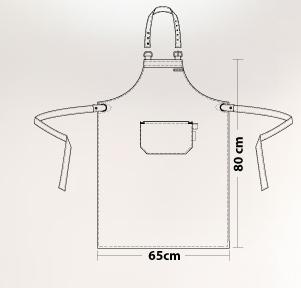 bib apron regular