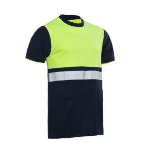 Hannover T-shirt Santino real navy/ geel
