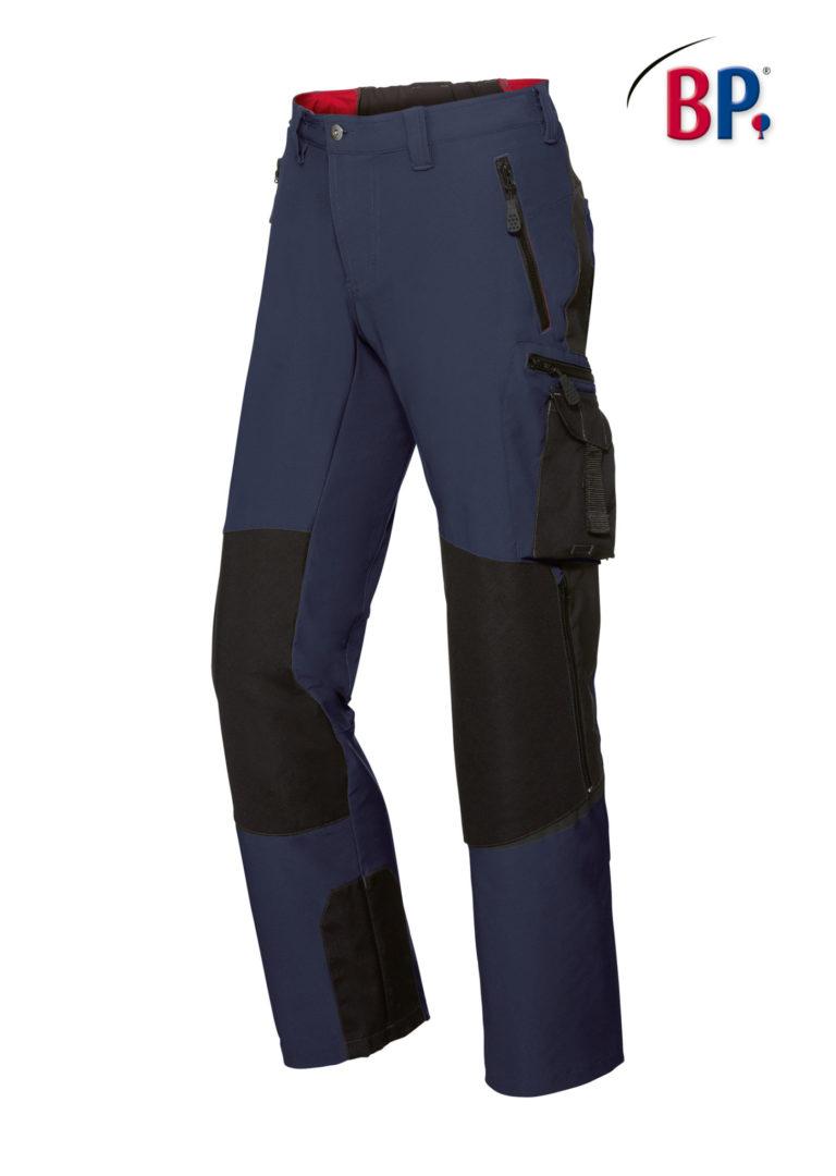 1861 Superstretch broek BP 1432 nachtblauw/zwart