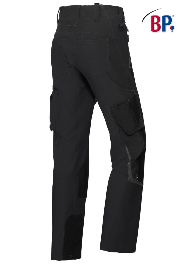 1861 Superstretch broek BP 32 zwart