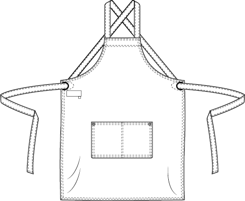 Regular pockets Cross Chaud Devant