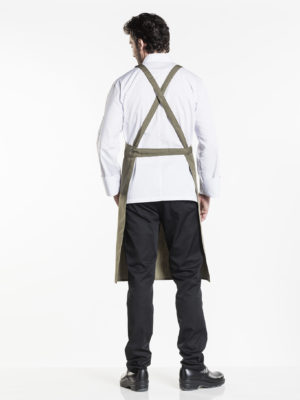 Regular pockets Cross Chaud Devant 636 dark olive