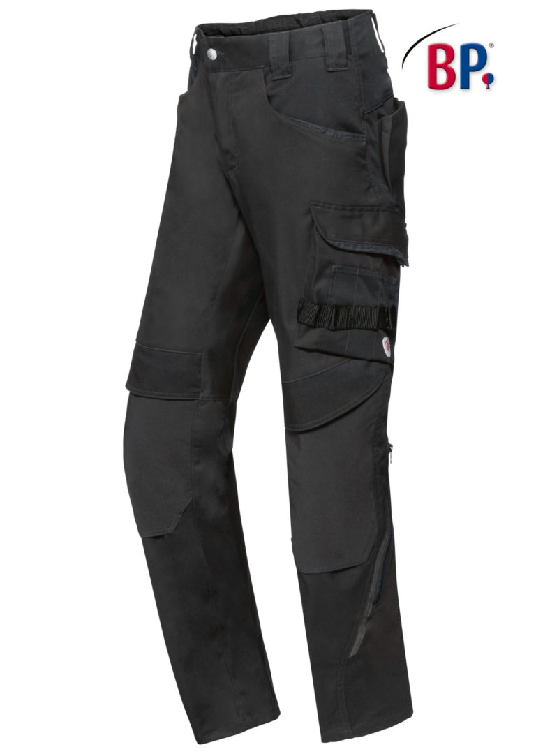 1825 BPlus modern stretch broek 32 zwart