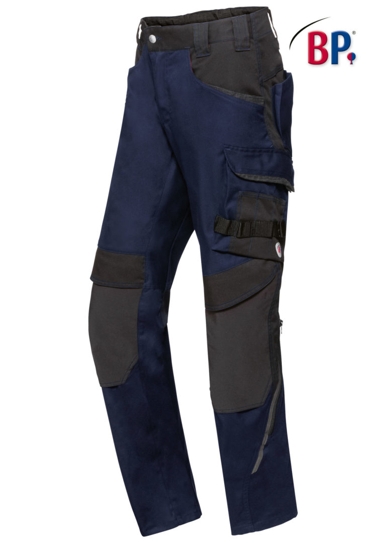 1825 BPlus modern stretch broek 1432 nacht blauw