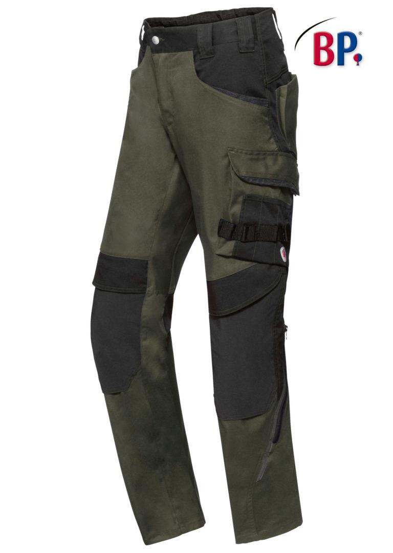 1825 BPlus modern stretch broek 73 olijf groen