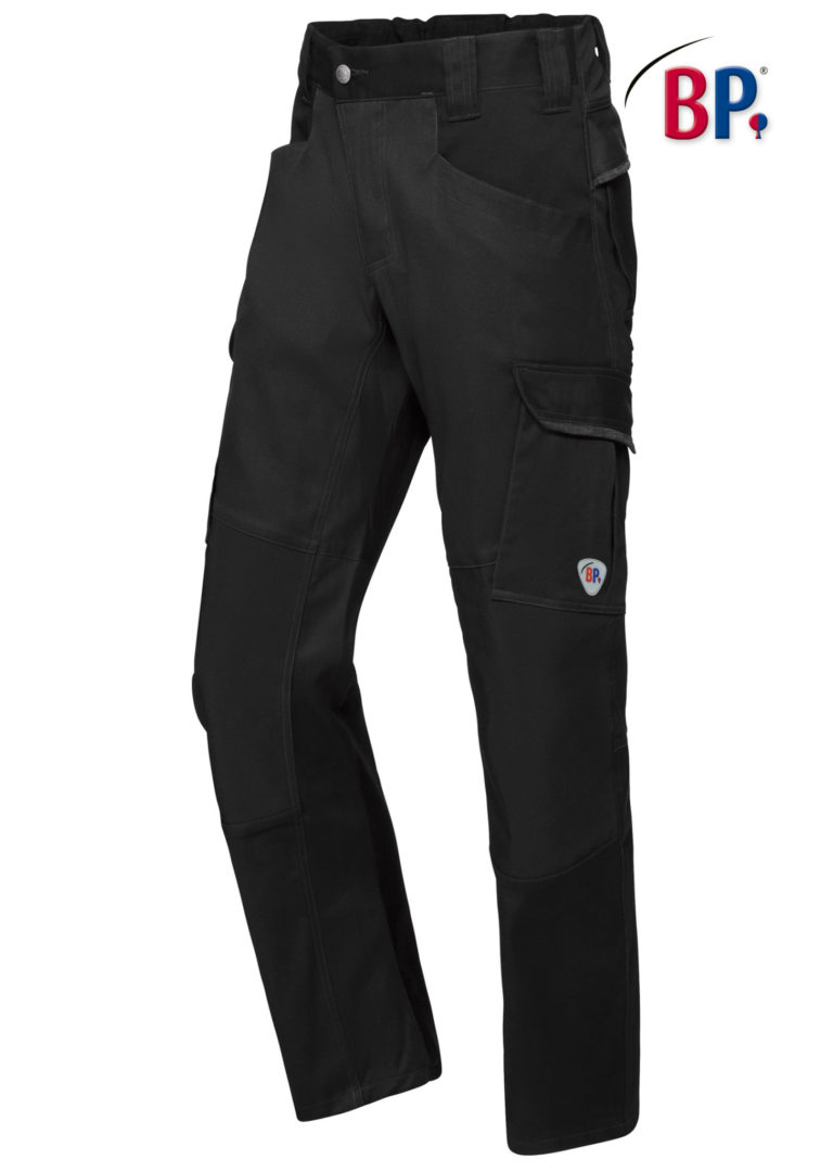 1826 BPlus modern stretch broek 32 zwart