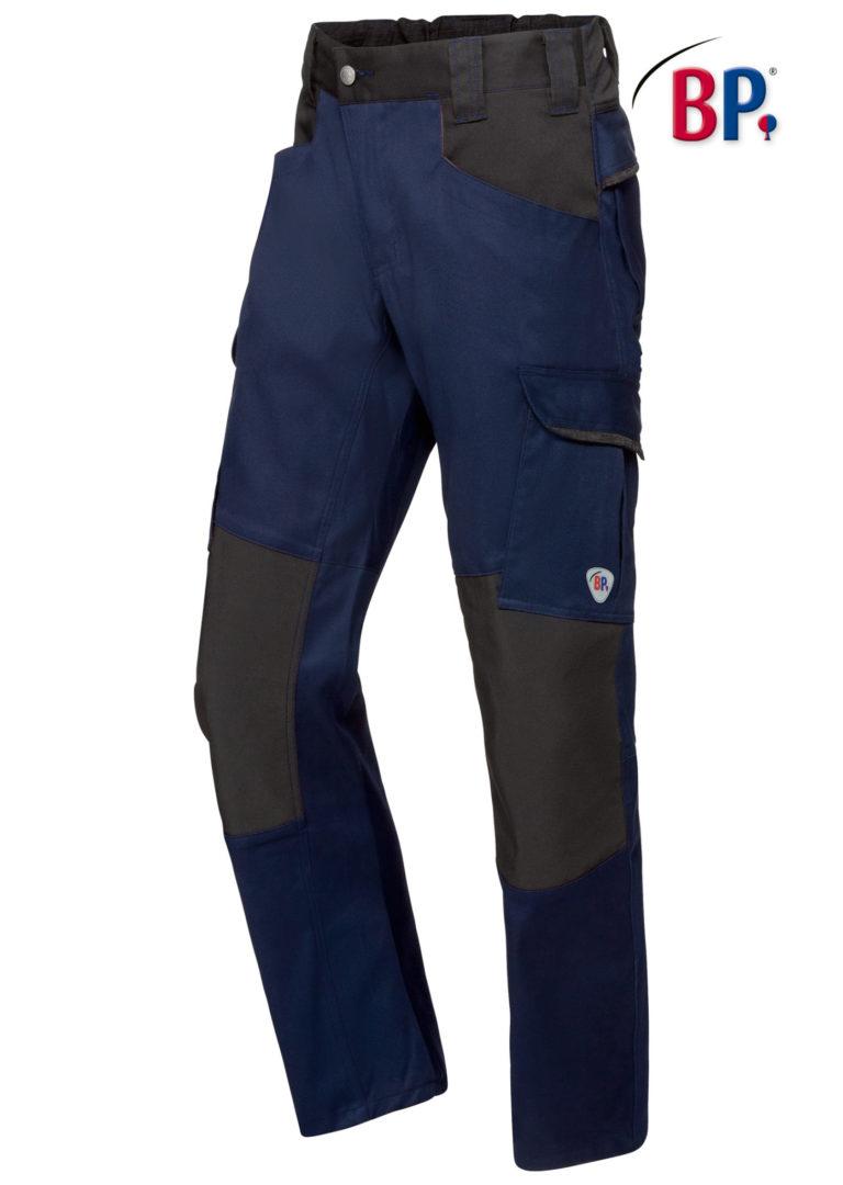 1826 BPlus modern stretch broek 1432 nacht blauw