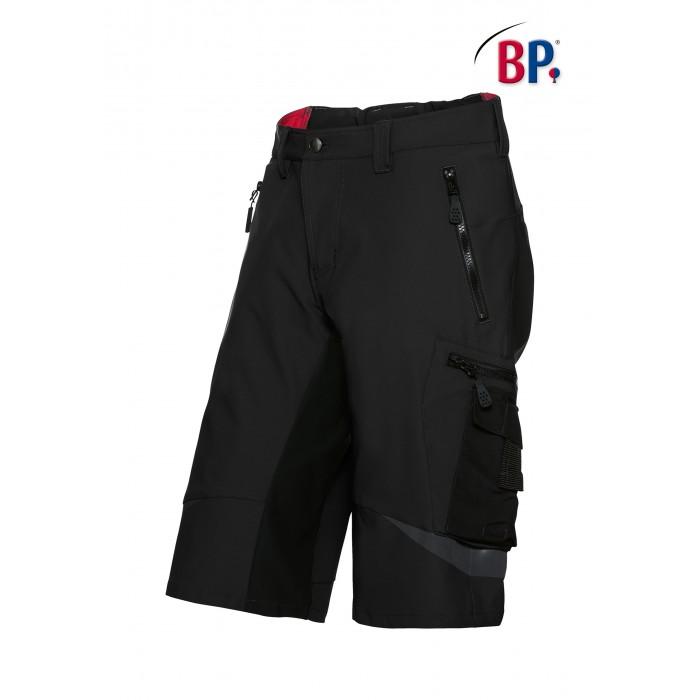 1863 Superstretch korte broek BP 32 zwart