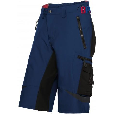1863 Superstretch korte broek BP 1432 nacht blauw