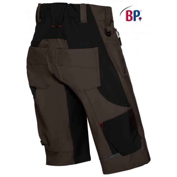 1863 Superstretch korte broek BP 48 bruin
