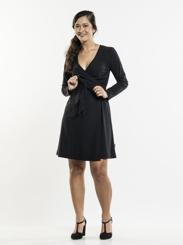 Dress Vanilla Black Chaud Devant