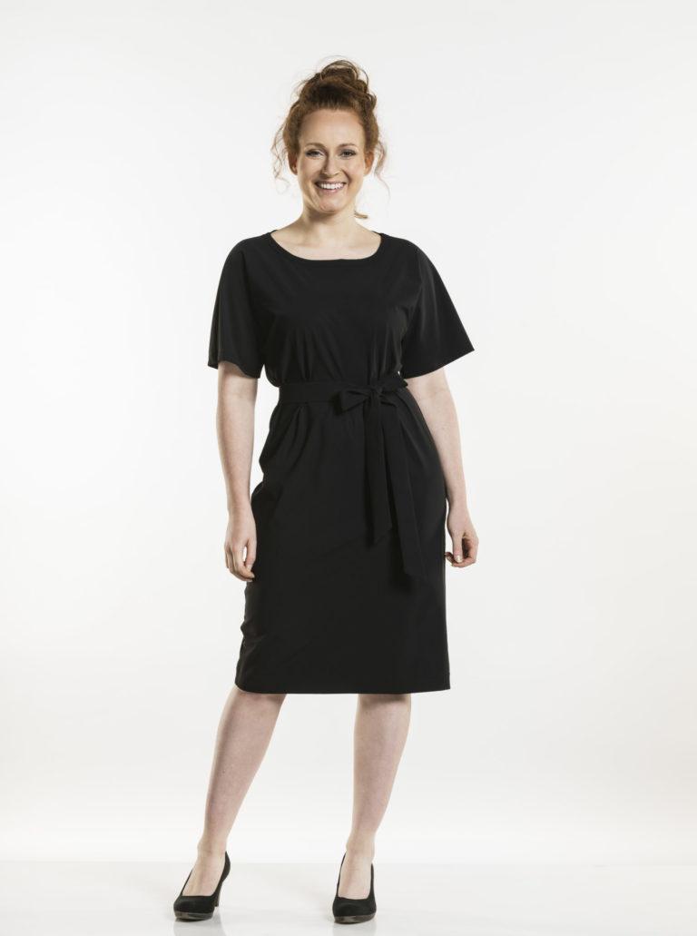 Dress Fennel Black Chaud Devant