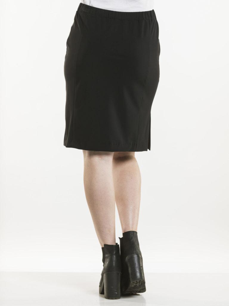 Skirt Cumin Black Chaud Devant