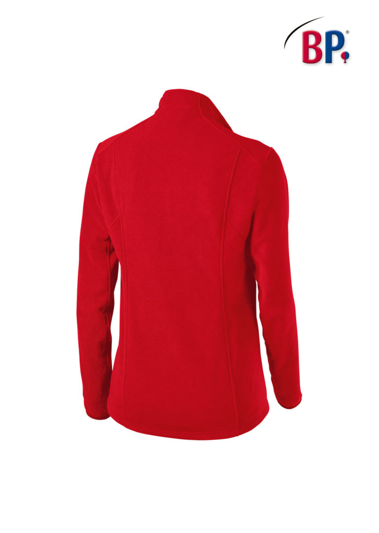 Dames Fleecevest 1693 BP Essentials 81 rood