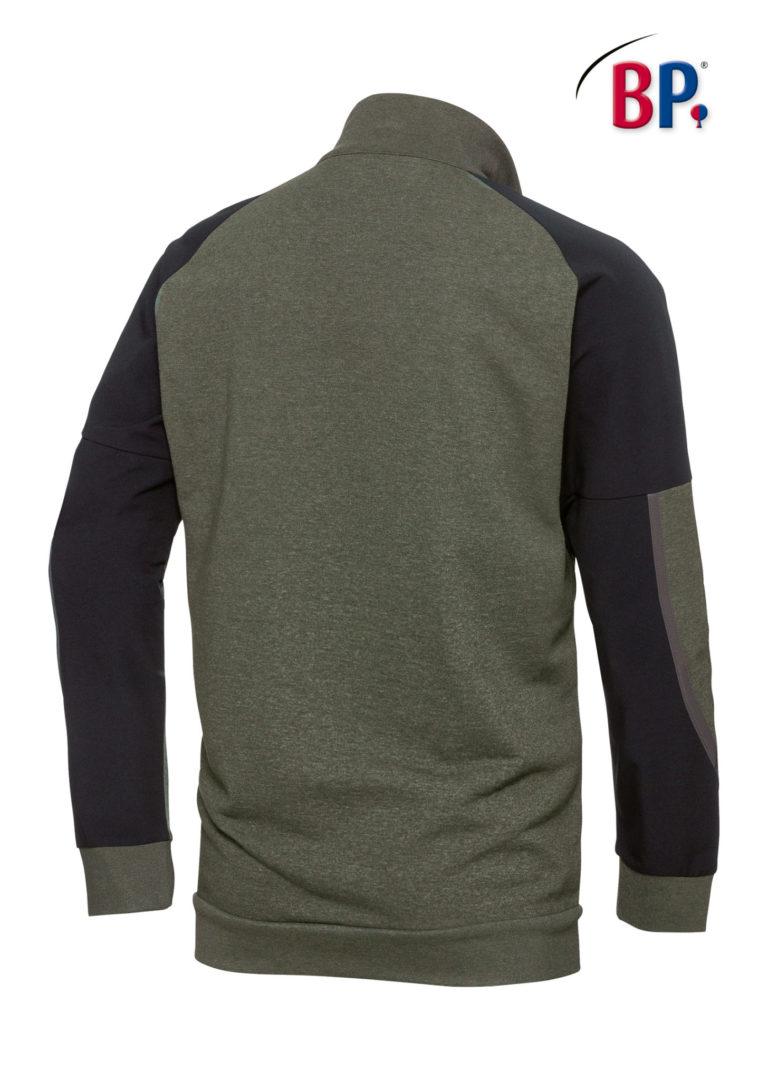 Sweatshirt Schipperstrui 1828 7332 olijf