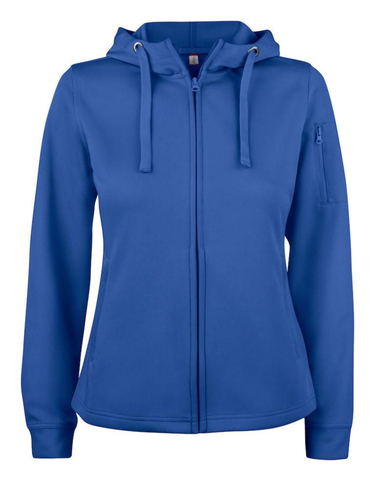 Basic Active Hoody Full Zip Ladies Clique 55