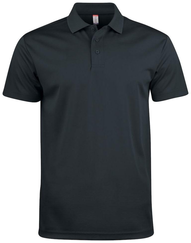 Basic Active polo Clique zwart