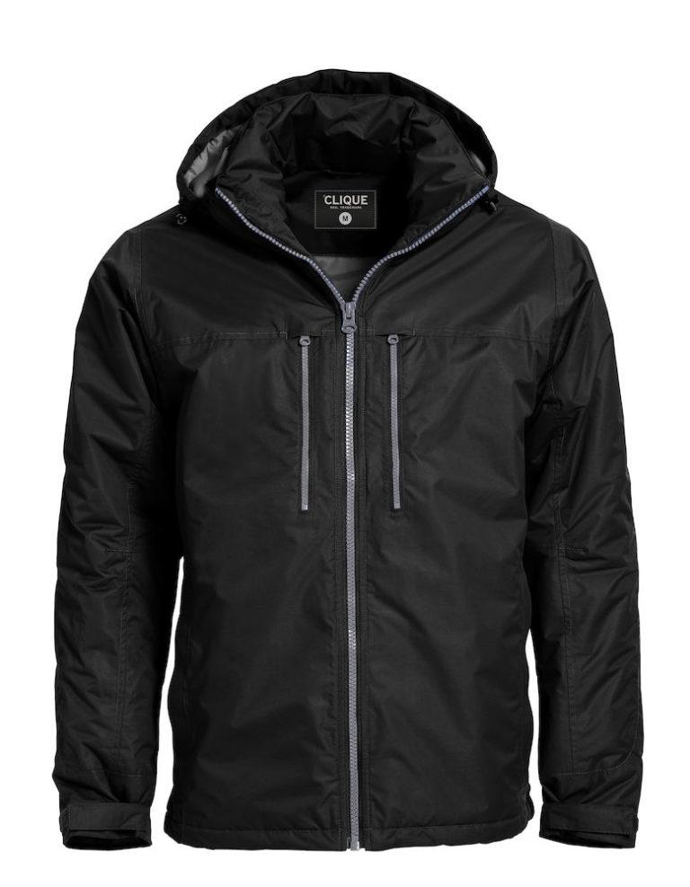 020970 Clique Kingslake jas zwart