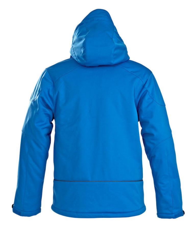 2261035 Padded Softshell SKELETON 632 oceaanblauw