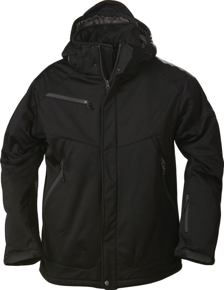2261035 Padded Softshell SKELETON 900 zwart