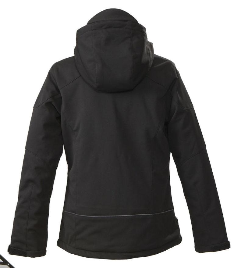 2261041 Padded Softshell SKELETON LADY 900-zwart