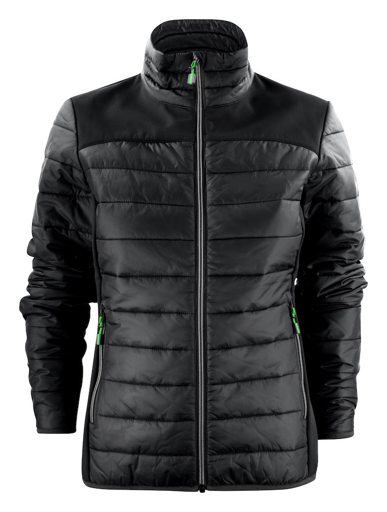 2261058 quilted jacket EXPEDITION LADY 900 zwart