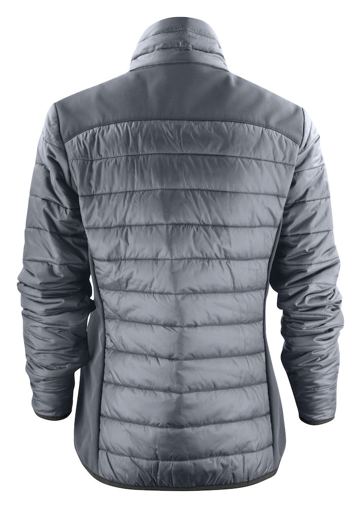 2261058 quilted jacket EXPEDITION LADY 935 staalgrijs