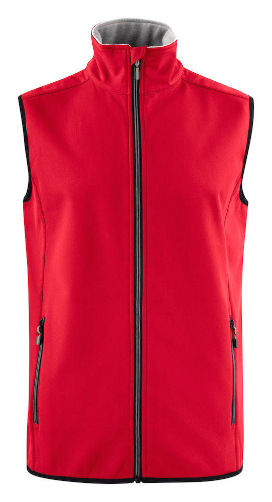 2261059 Softshell Vest Trial 400 Rood