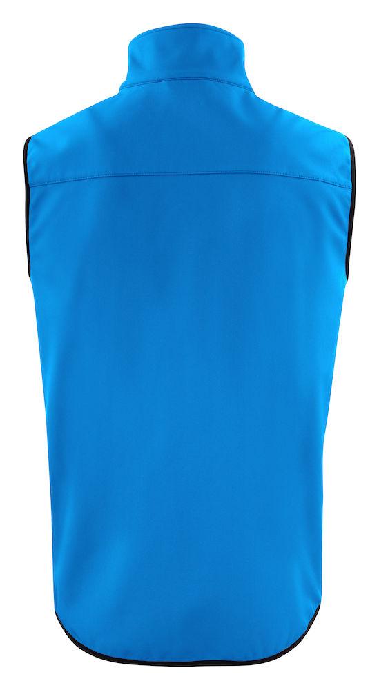 2261059 Softshell Vest Trial 632 Oceaanblauw