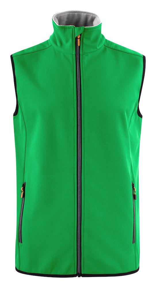 2261059 Softshell Vest Trial 728 Frisgroen