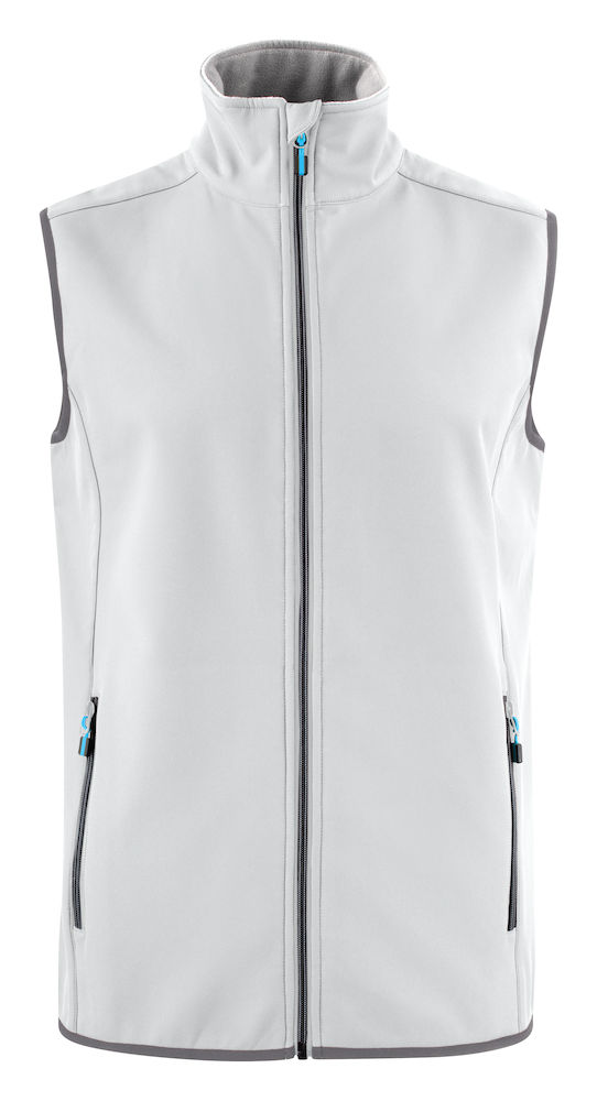 2261059 Softshell Vest Trial 100 wit
