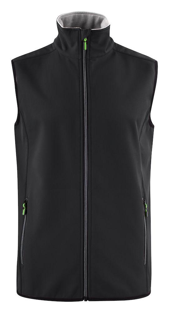 2261059 Softshell Vest Trial 900 zwart