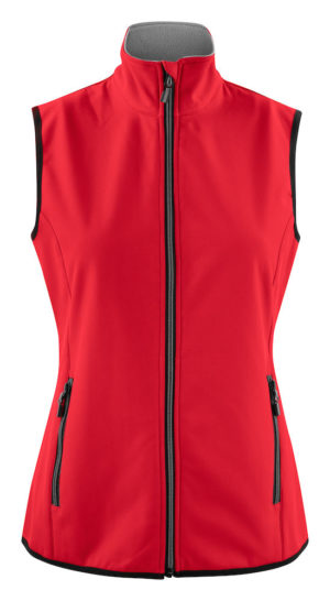 2261060 Softshell Vest Trial Lady 400 Rood
