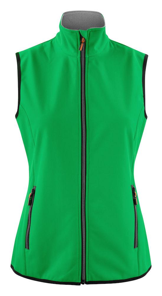 2261060 Softshell Vest Trial Lady 728 Frisgroen